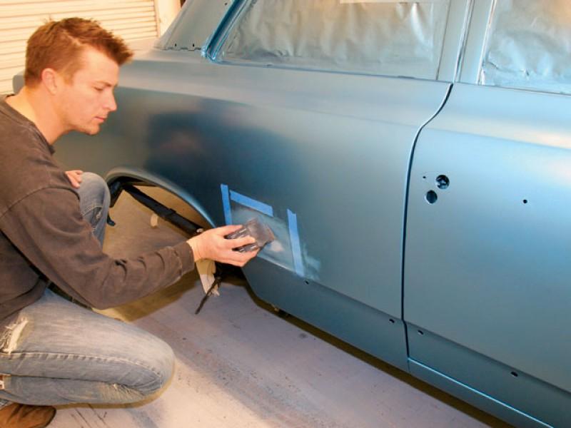 Как покрасить свою машину своими руками