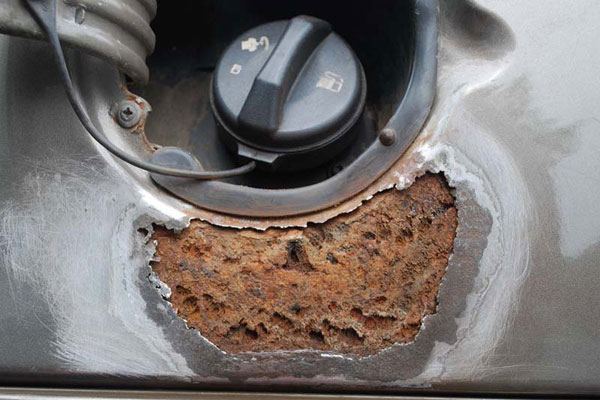 Как убрать ржавчину на автомобиле своими руками