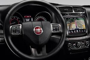 Fiat Freemont панель управления