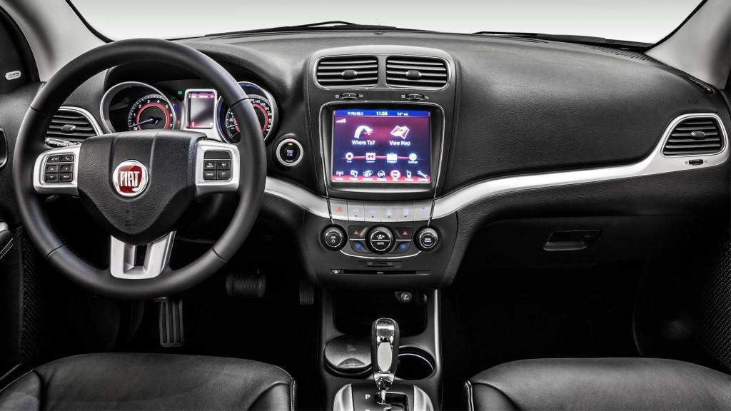 Fiat Freemont 2016-2017 управление