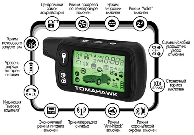 Tomahawk car alarm. Mov youtube.
