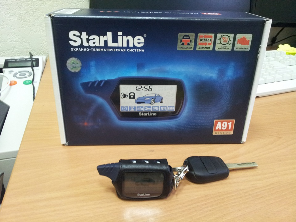 Сигнализация Starline A91 Dialog