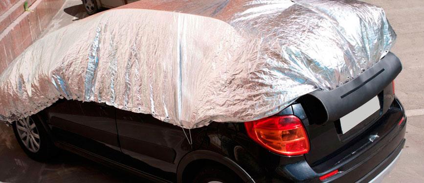 Защита темного авто от солнца