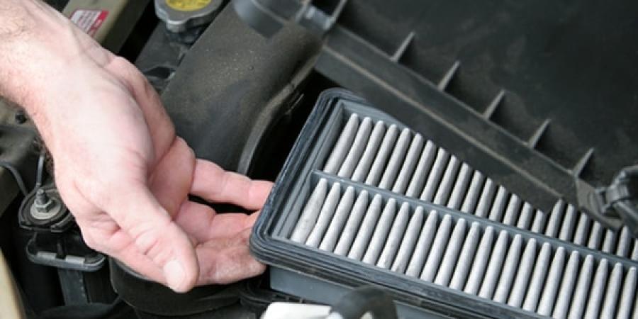 Как заменить воздушный фильтр на машине