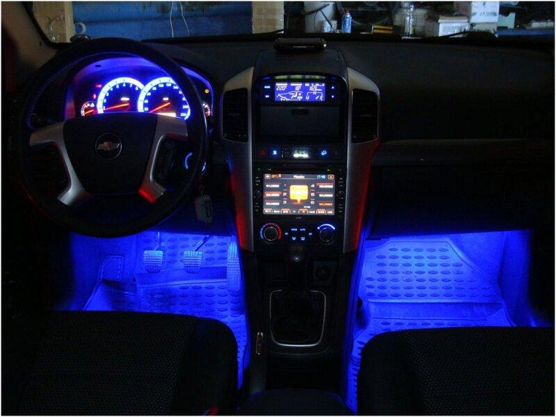 Неоновые лампы для авто