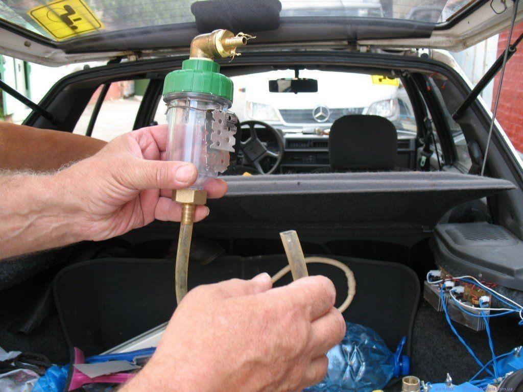Самодльная система впрыска воды в двигатель