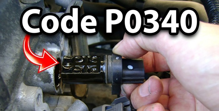 Код ошибки Р0340