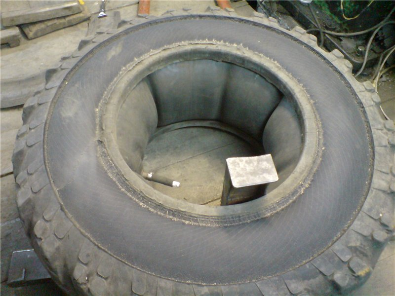 Как сделать колеса на болотоход