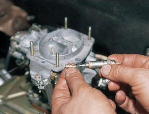 Установка электромагнитного клапана