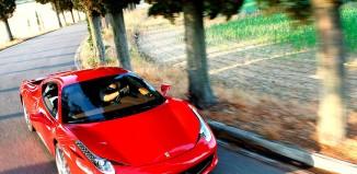 Авто на повороте