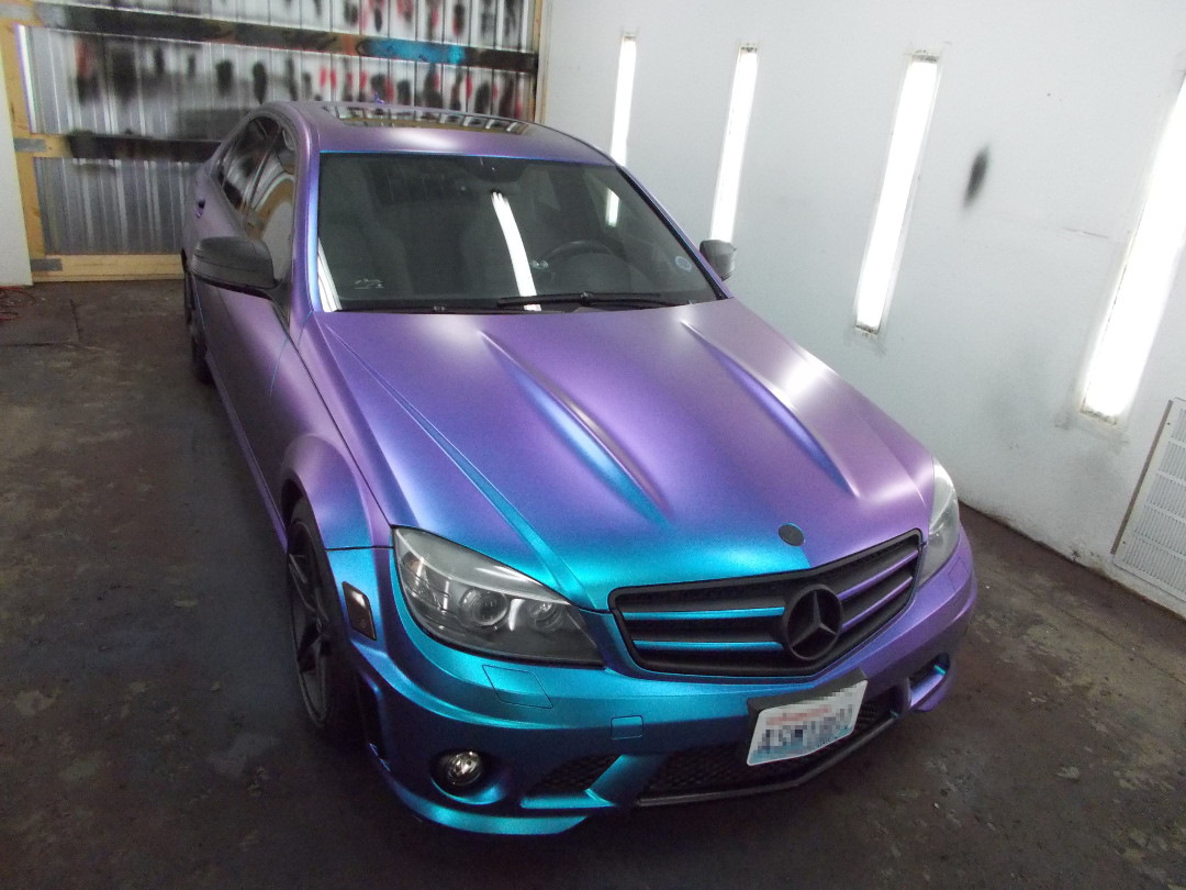 Автомобильная краска перламутр фото